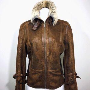 🆕 Listing!  MontanaCo   Faux Shearling Coat